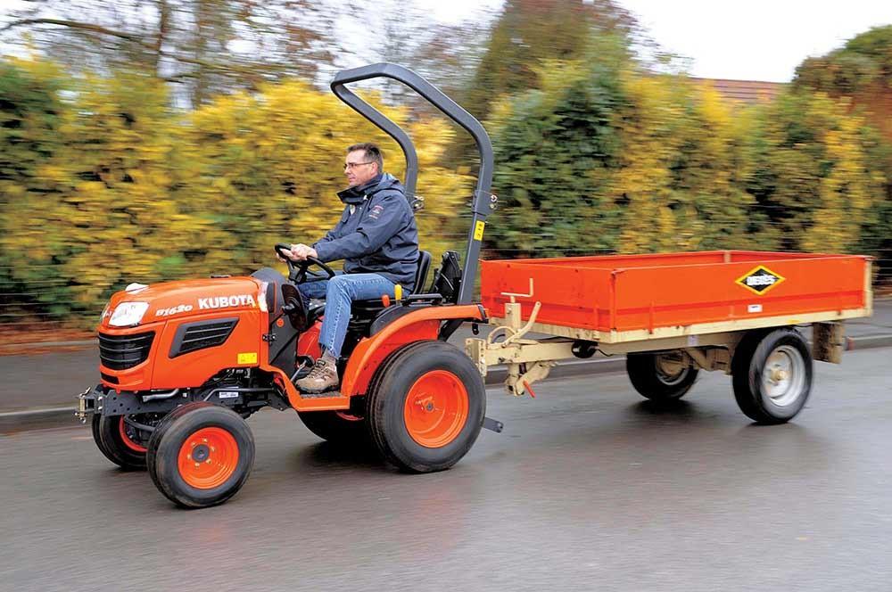 Tracteur kubota b1620