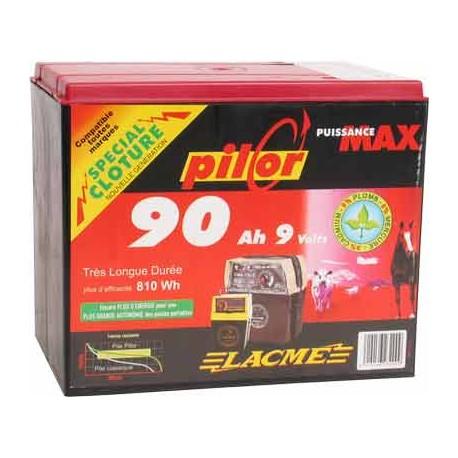 LACME - PILES PILOR 9V 90Ah – réf 623200