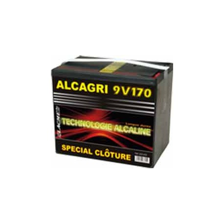 LACME - PILES ALCALINE 9V – ALCAGRI 170Ah – réf 623605