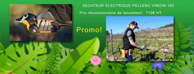 secateur electrique pellenc 150