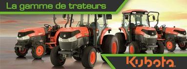 gamme de tracteurs KUBOTA
